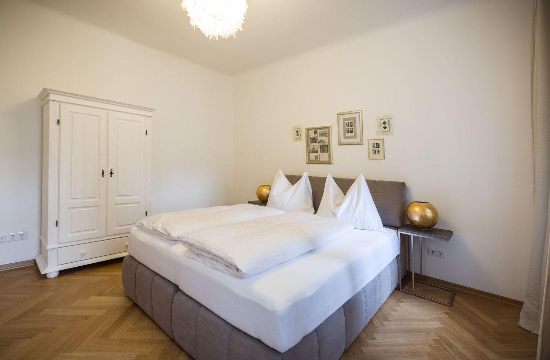 Apartment Così fan tutte Salzburg Schlafzimmer